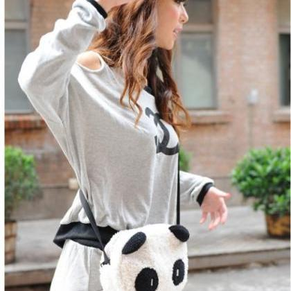Kawaii Clothing Ropa Cute Bag Panda..