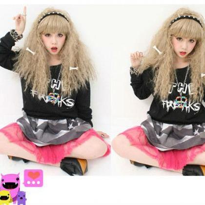 Kawaii Clothing 2PCs Bones Huesos H..