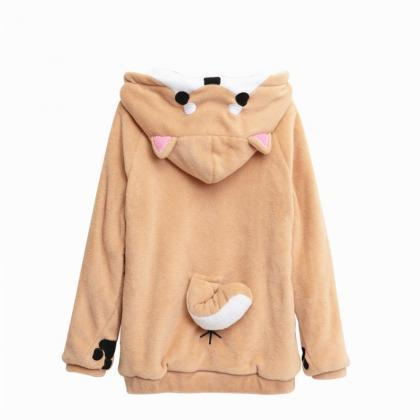 Kawaii Clothing Dog Animal Ears Wol..