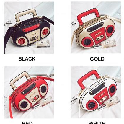 Kawaii Clothing Radio Bag Vintage C..