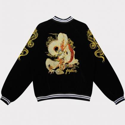 Kawaii Clothing Dragon Jacket Sukaj..