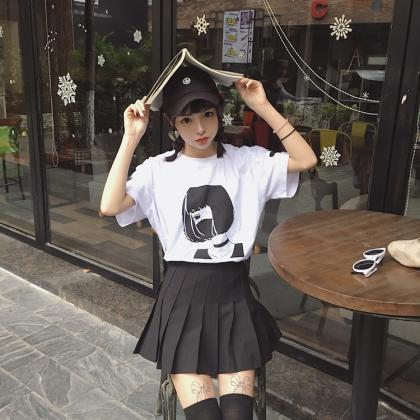 Kawaii Clothing Black Gothic Girl M..