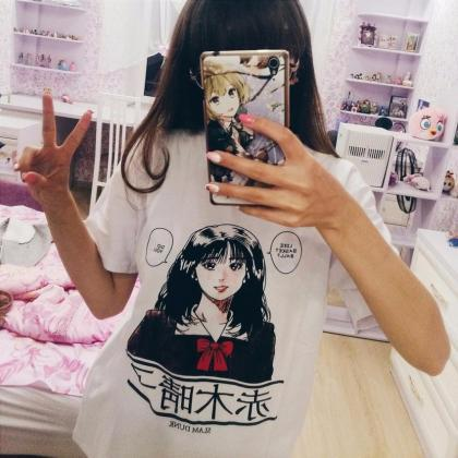 Kawaii Clothing Anime Manga Girl Sl..