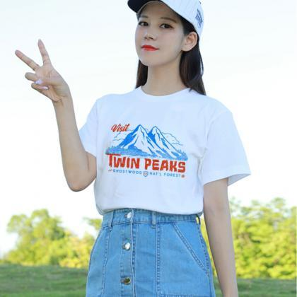 Kawaii Clothing Twin Peaks T-Shirt ..