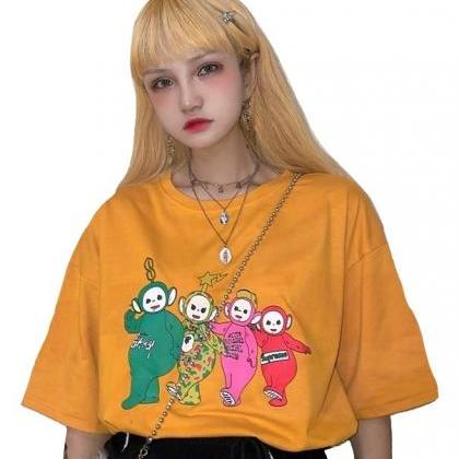 Kawaii Clothing Teletubbies T-Shirt..