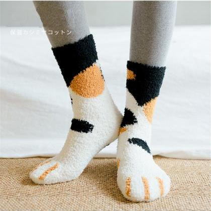 Kawaii Clothing Cat Kitty Neko Sock..