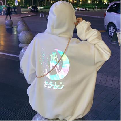 Kawaii Clothing Sailor Moon Hoodie ..