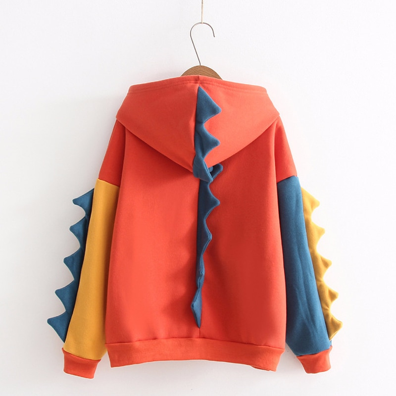 Dinosaur Hoodie Sweatshirt Monster Kawaii Clothing Ulzzang Korea