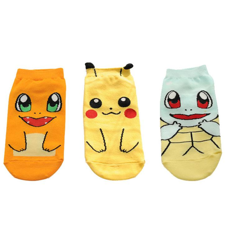 Kawaii Clothing Ankle Socks Anime Manga Animal Cartoon Videogame Harajuku Ulzzang WH288