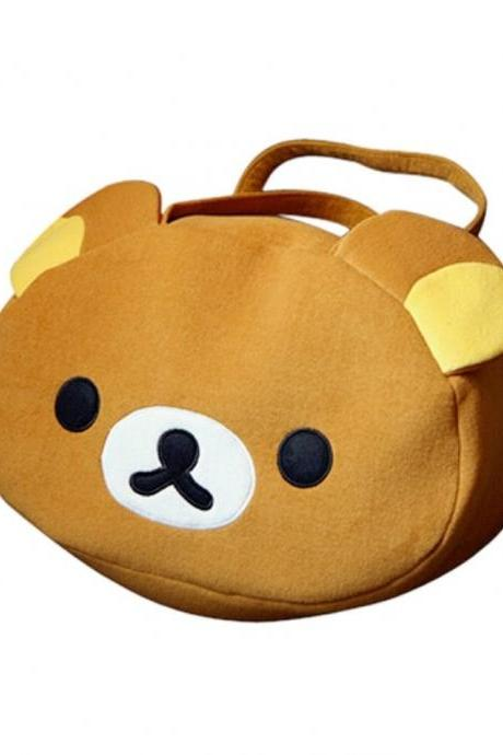 Kawaii Clothing Bag Rilakkuma Bear Bolso Handbag Harajuku Korean Japanese Ropa WH99