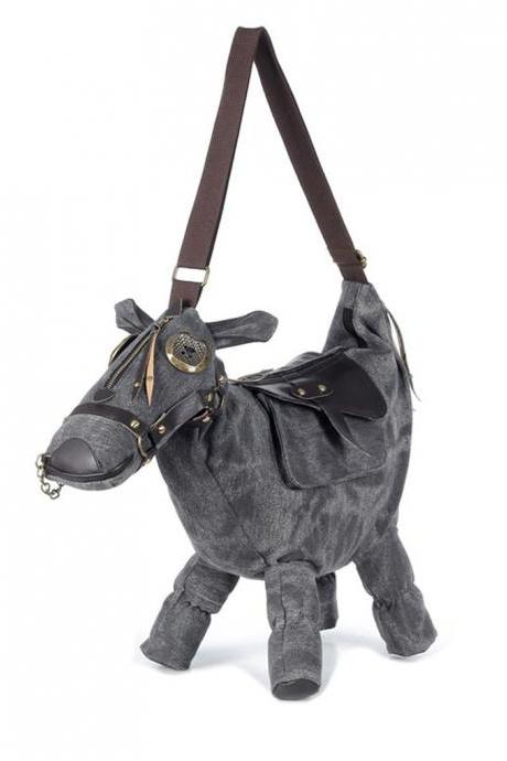 Kawaii Clothing Donkey Bag Bolso Horse Pony Harajuku Korean Japanese Tokyo Animal Burro
