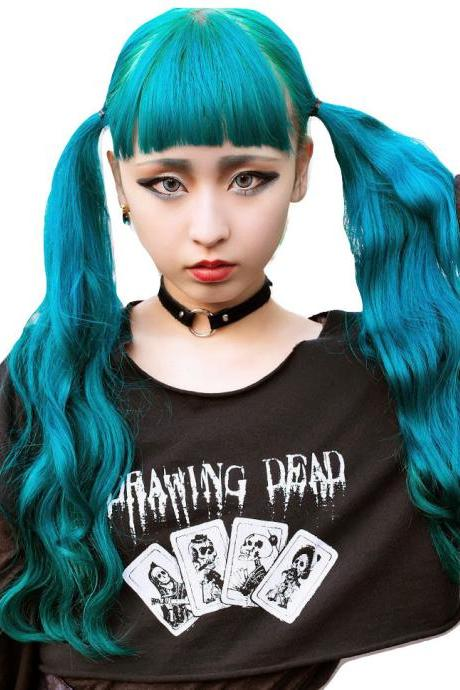 Kawaii Clothing Necklace Heart Pastel Goth Harajuku Choker Punk