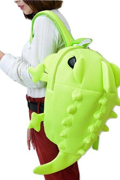 Kawaii Clothing Chameleon Lizard Reptile Bag Chameleon Backpack