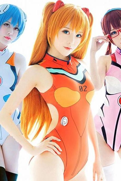 Kawaii Clothing Anime Manga Sexy Japan Asuka Evangelion Swimsuit