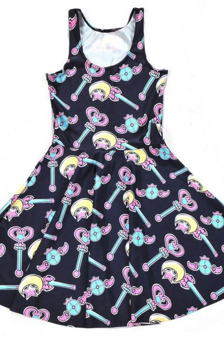 Kawaii Clothing Anime Japanese Harajuku Cute Sailor Moon Dress