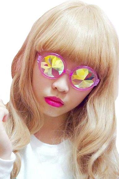 Kawaii Clothing Harajuku Ulzzang Sunglasses Kaleidoscope Glasses