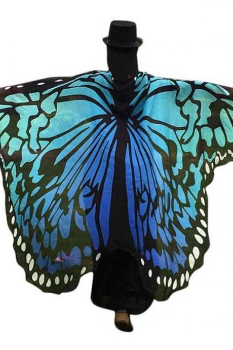 Kawaii Clothing Butterfly Wings Shawl Scarf Harajuku Ulzzang