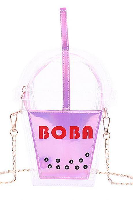 Kawaii Clothing Boba Pearls Bubble Tea Bag Harajuku Ulzzang Cool