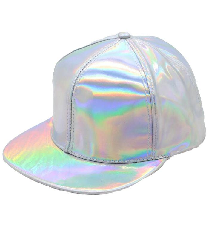 Kawaii Clothing Laser Cap Kpop Hat Jpop Hologram Harajuku Shiny