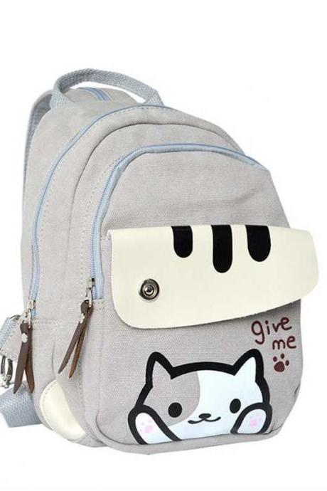 Kawaii Clothing Bag Neko Atsume Otaku Japan Cat Backpack Kitty