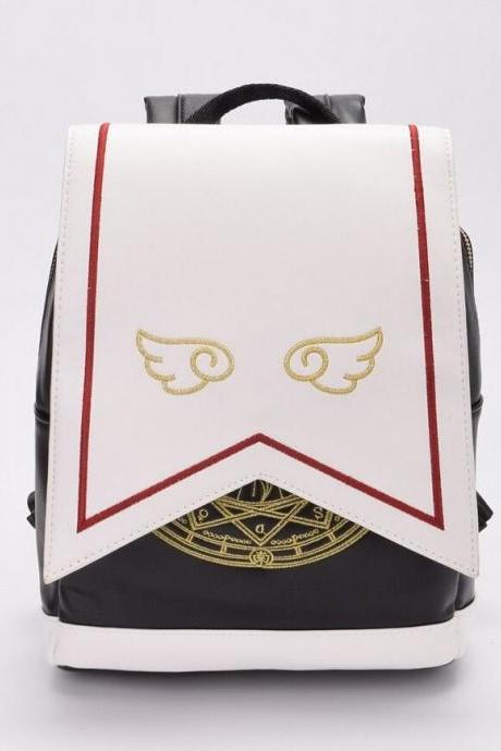 Kawaii Clothing Anime Cardcaptor Sakura Backpack Magical Girl