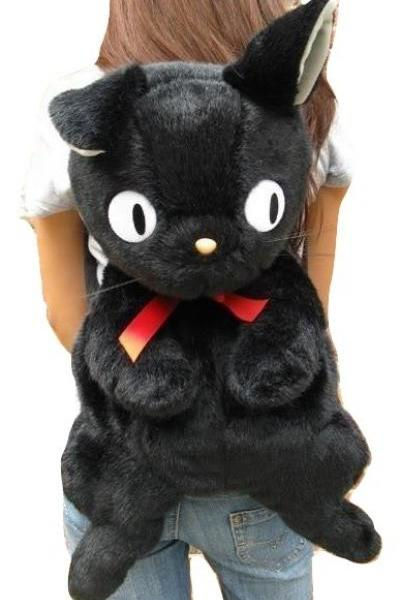 Kawaii Clothing Cat Backpack Bag Black Anime Animal Ears