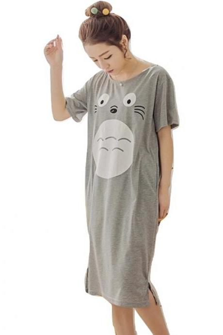 Kawaii Clothing Anime Manga Japan Cartoon Pajamas Sleepwear Gray