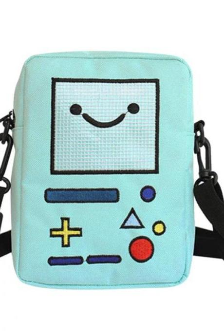 Kawaii Clothing Game Retro Robot Cartoon Bag