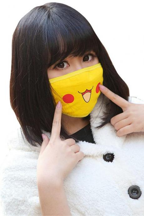 Kawaii Clothing Cartoon Anti Dust Face Mask Japan Korea Anime WH507