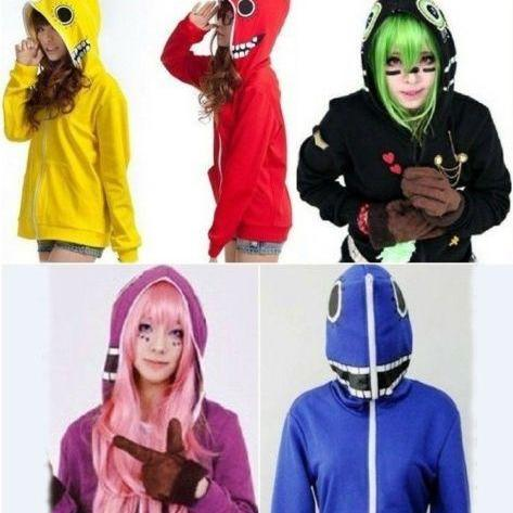 Kawaii Clothing Ropa Hoodie Matryoshka Vocaloid Anime Harajuku Korean Japanese WH208