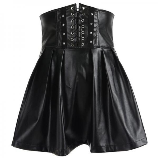 Kawaii Clothing Bandage Skirt Gothic Black Sexy Corset Punk Emo